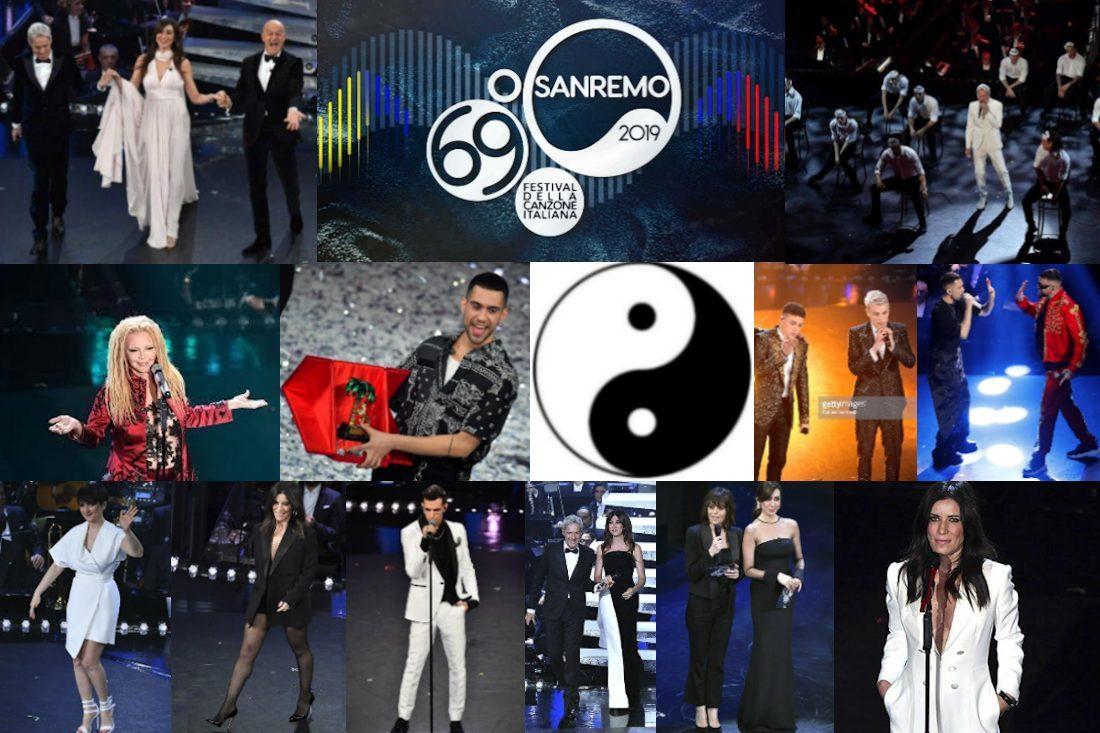 Sanremo 2019 Black & White