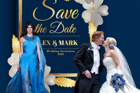 matrimonio in blu 2020